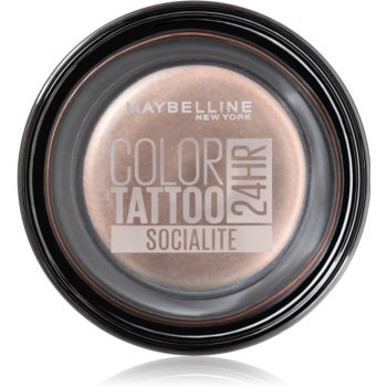 Maybelline Color Tattoo Lidschatten-Gel Farbton Socialite 4 g