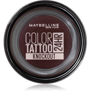 Maybelline Color Tattoo Lidschatten-Gel Farbton Knockout 4 g