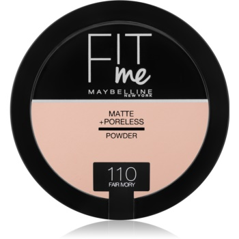 Maybelline Fit Me! Matte+Poreless pudra matuire