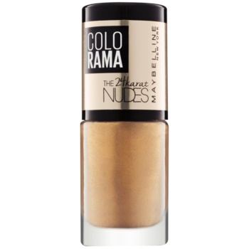 Maybelline Colorama The 24karat Nudes lac de unghii