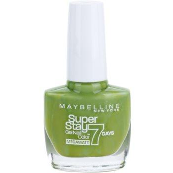 Maybelline Forever Strong Super Stay 7 Days Megawatt lakier do paznokci