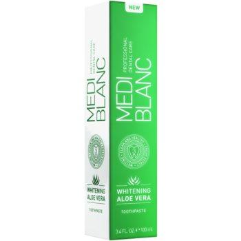 MEDIBLANC Whitening Aloe Vera regenerative toothpaste with whitening effect 3