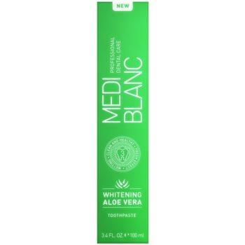 MEDIBLANC Whitening Aloe Vera regenerative toothpaste with whitening effect 4