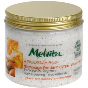 Melvita Apicosma exfoliant corp pentru piele uscata