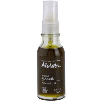 Fotografie Melvita Huiles de Beauté Avocat vyhlazujíci olej na oční okolí a pleť 50 ml