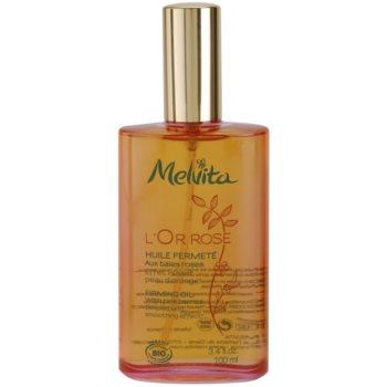 Melvita L'Or Rose spevňujúci telový olej s vyhladzujúcim efektom