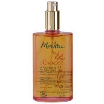 Melvita L'Or Rose spevňujúci telový olej s vyhladzujúcim efektom 1