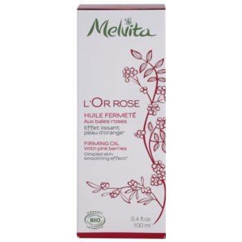 Melvita L'Or Rose spevňujúci telový olej s vyhladzujúcim efektom 3