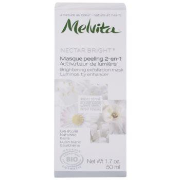Melvita Nectar Bright Peeling Maske zur Verjüngung der Gesichtshaut 2