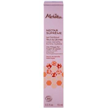 Melvita Nectar Supreme glättende Augencreme Für Lippen und Augenumgebung 2