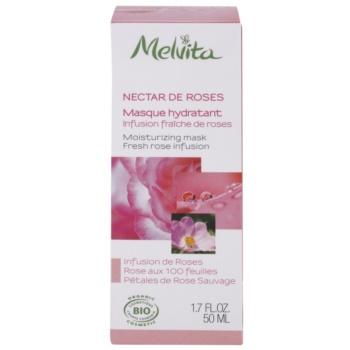 Melvita Nectar de Roses máscara hidratante 2
