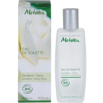 Melvita Organic Eau De Toilette eau de toilette pentru femei 100 ml Gardenia - Ylang Ylang