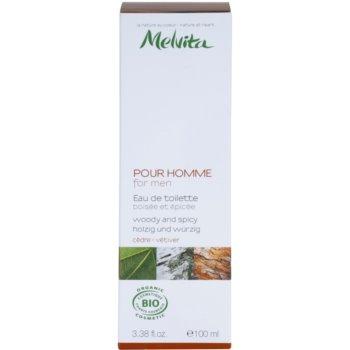 Melvita Pour Homme Eau de Toilette pentru barbati   Cedar - Vetiver 3
