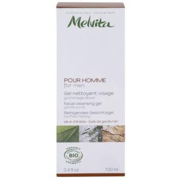 Melvita Pour Homme čisticí pleťový gel 2