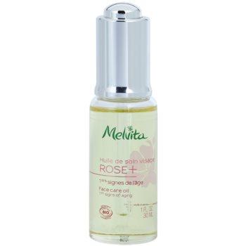 Melvita Rose+ olje za obraz proti gubam