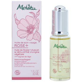 Melvita Rose+ Hautöl mit Antifalten-Effekt 1