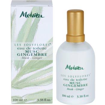 Melvita Solyflores eau de toilette pentru femei 100 ml Musk - Ginger