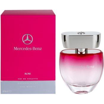 Mercedes-Benz Mercedes Benz Rose toaletní voda pro ženy 60 ml