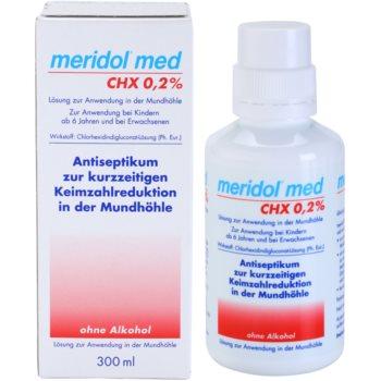 Meridol Med apa de gura antiseptica fara alcool 1