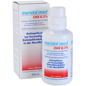 Meridol Med apa de gura antiseptica fara alcool 2