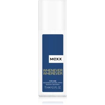 Mexx Whenever Wherever deodorant spray pentru barbati