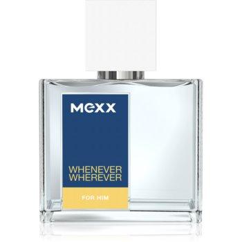 Mexx Whenever Wherever eau de toilette pentru bărbați 30 ml