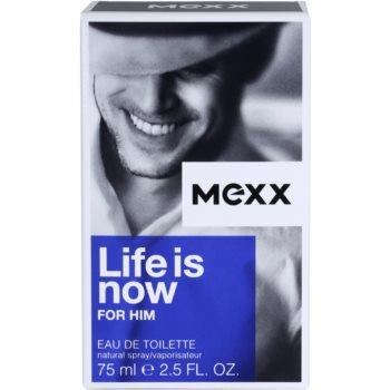 Mexx Life is Now for Him toaletna voda za moške 4