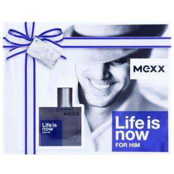 Mexx Life is Now for Him dárková sada 1