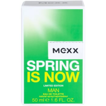 Mexx Spring is Now Man toaletna voda za moške 4