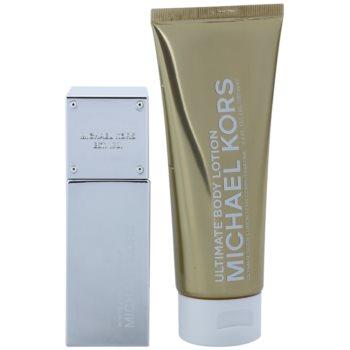 Michael Kors White Luminous Gold подаръчен комплект 1