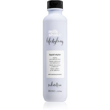 Milk Shake Lifestyling gel de par pentru fixare și formă