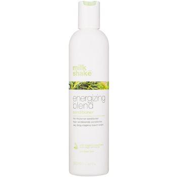 Fotografie Milk Shake Energizing Blend energizující kondicionér pro jemné, řídnoucí a křehké vlasy bez parabenů 300 ml