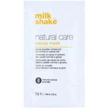 Milk Shake Natural Care Cocoa regeneracijska maska za lase s čokolado