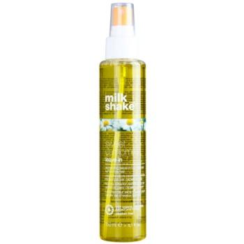 Milk Shake Sweet Camomile condicionador sem enxaguar nutritivo para cabelo loiro e grisalho