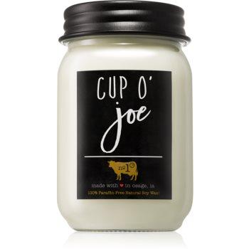 Milkhouse Candle Co. Farmhouse Cup O' Joe lumânare parfumată Mason Jar