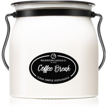 Milkhouse Candle Co. Creamery Coffee Break lumânare parfumată Butter Jar poza noua