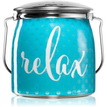 Milkhouse Candle Co. Creamery Relax lumânare parfumată