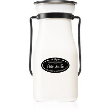 Milkhouse Candle Co. Creamery Pure Vanilla lumânare parfumată Milkbottle