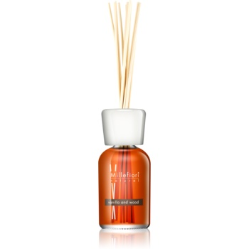 Millefiori Natural Vanilla and Wood aroma difuzor cu rezervã