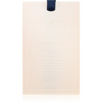Millefiori Laundry Jonquille card parfumat