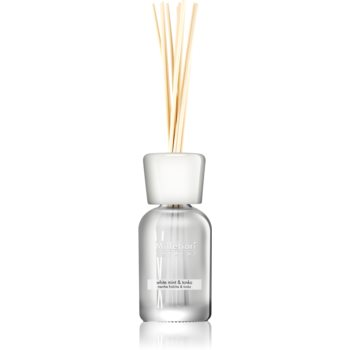 Millefiori Natural White Mint & Tonka aroma difuzor cu rezervã