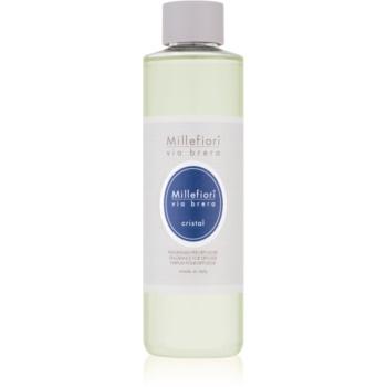 Millefiori Via Brera Cristal reumplere în aroma difuzoarelor 250 ml