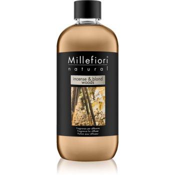 Millefiori Natural Incense & Blond Woods reumplere în aroma difuzoarelor