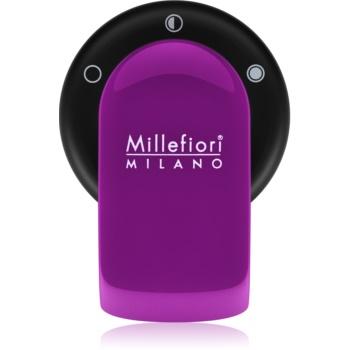 Millefiori GO suport auto pentru miros cu rezervã Viola (Sandalo Bergamotto)