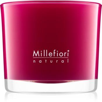Millefiori Natural Grape Cassis lumanari parfumate 180 g
