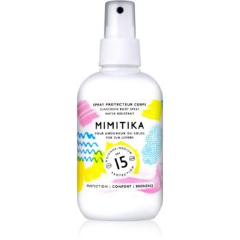 Mimitika Sun spray pentru bronzat SPF 15