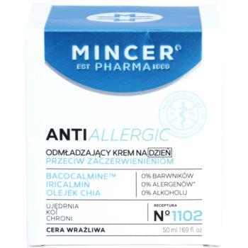 Mincer Pharma AntiAllergic N° 1100 verjüngende Tagescreme für empfindliche Haut 2