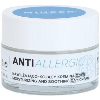 Mincer Pharma AntiAllergic N° 1100 заспокійливий денний крем проти почервонінь зі зволожуючим ефектом