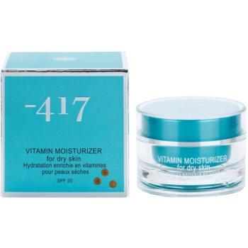 Minus 417 Vitamin hydratační krém na obličej pro suchou pleť 2