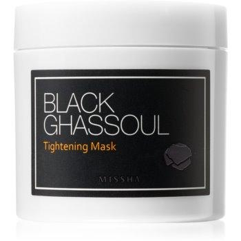 Missha Black Ghassoul straffende Maske zur Verkleinerung der Poren 95 g